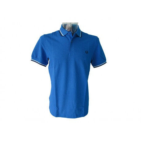 Polo Fred Perry Uomo tipped Blu navy