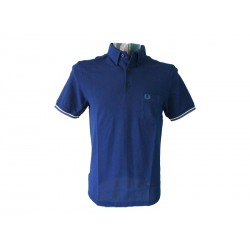Polo Fred Perry Uomo Oxford Navy