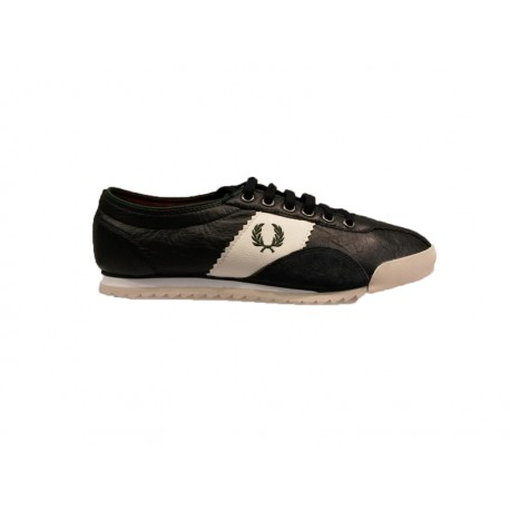 Scarpe Fred Perry chase washed leather 608