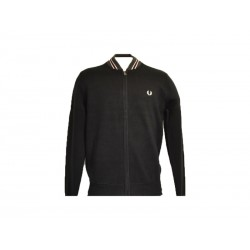Maglione aperto Fred Perry budding yarn tipped bomber 102