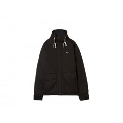 Ouilted stockport jacket uomo Fred Perry 102 nero