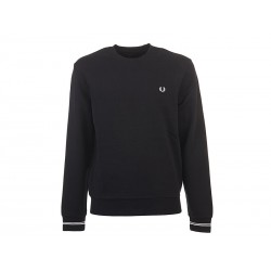 Maglione fred perry total black man