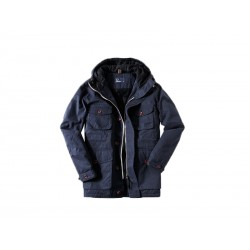 Utility jacket uomo Fred Perry 226 blu granite