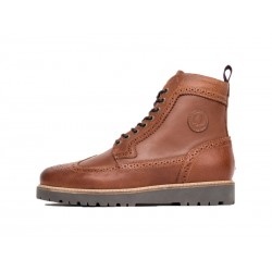 Scarpa uomo fred perry northgate leather 448 marroni