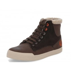 Scarpa uomo Fred Perry meynell leather/suede 325 marroni