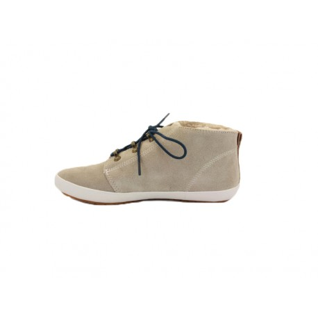 Scarpa donna Fred Perry globe suede 407 beige