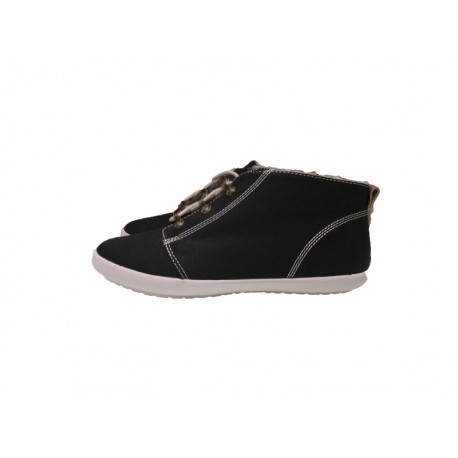Scarpa donna Fred Perry globe twill 102 nere