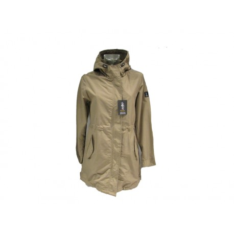 Piumino donna Refrigue  Evo1.W  colore biscuit trench