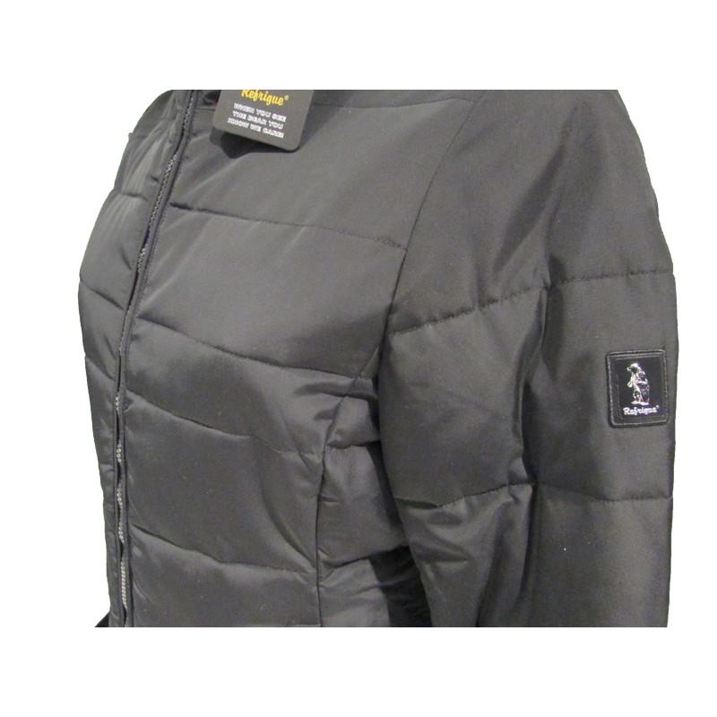 design di qualità 2deb2 40871 Giubbotto donna Refrigue svarta black/taupe - Look&Look