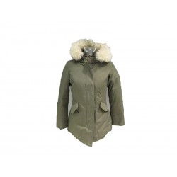 Giubbino donna Canadian Fundy Bay sheepskin army