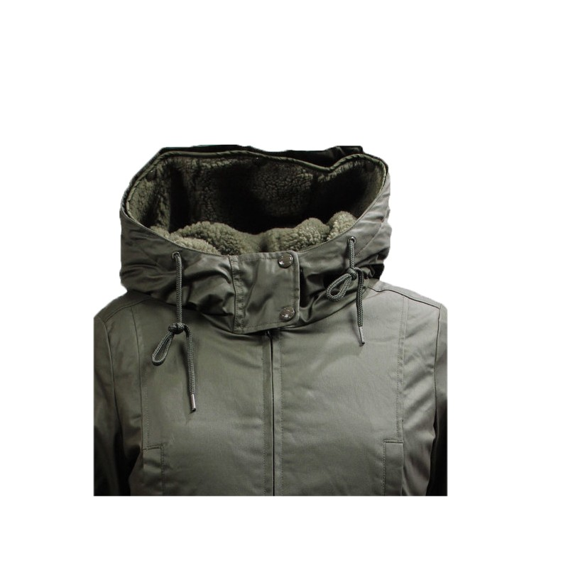 check out 597c5 aeaaf Giubbotto parka Donna Penn Rich Abbey eskimo Verde - Look & Look