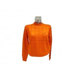 Maglione donna fred perry arancio D17