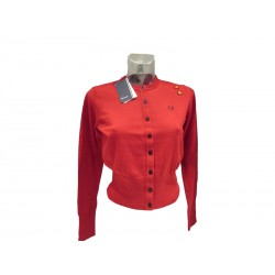 Cardigan donna rossa fred perry Amy Winehouse limited edition