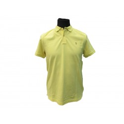 Polo Refrigue uomo classic slim-fit Yellow