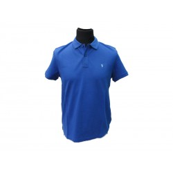 Polo Refrigue uomo classic slim-fit Blu