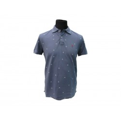 Polo Refrigue uomo fantasia slim-fit Steel