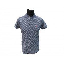 Polo Refrigue uomo bicolor slim-fit Steel