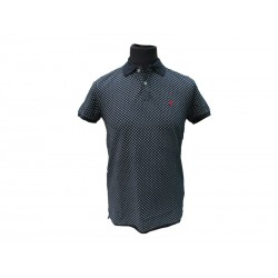 Polo Refrigue uomo fantasy cool slim-fit night blu