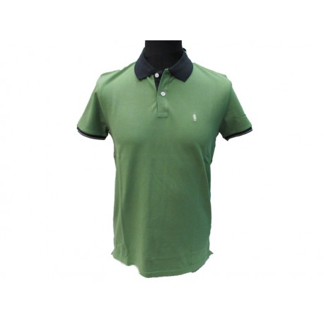 Polo Refrigue uomo BeColor slim-fit Green