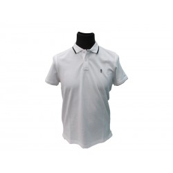 Polo Refrigue uomo white slim-fit