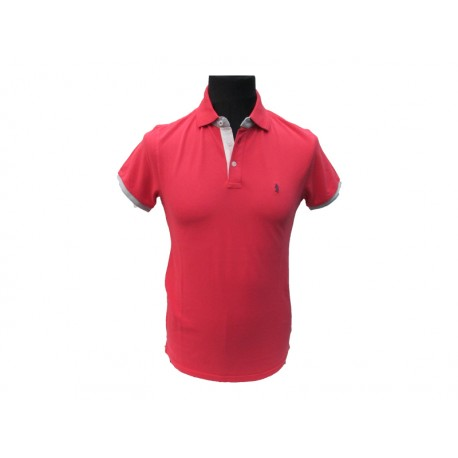 Polo Refrigue uomo red artic slim-fit