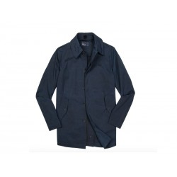 Jacket Fred Perry uomo Oxford Blu Navy