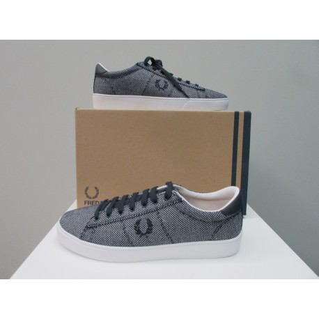 Scarpe Fred Perry Donna Spencer Canvas Blu navy