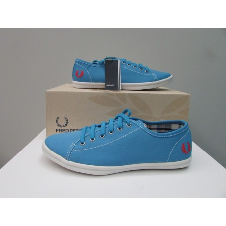 Scarpe Fred Perry Donna Phoenix king Blu