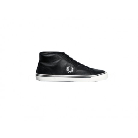 Scarpa fred perry haydon mid leather 102 black