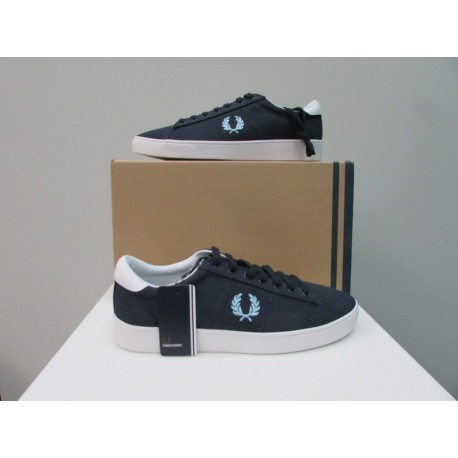 Scarpe uomo Fred Perry Spencer blu navy