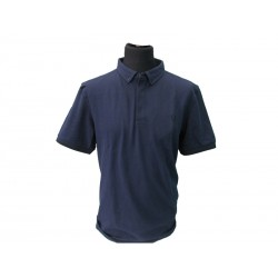 Polo Fred Perry Uomo Placket Slim Fit night blu