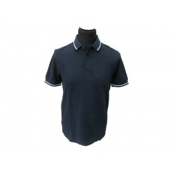 Polo Fred Perry Uomo twin Slim Fit blu