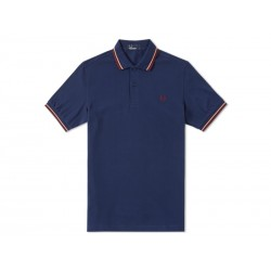 Polo Fred Perry Uomo Tipped Slim Fit Night