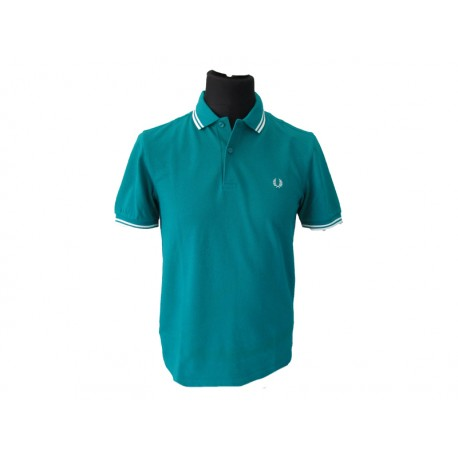 Polo Fred Perry Uomo Twin Fanfare