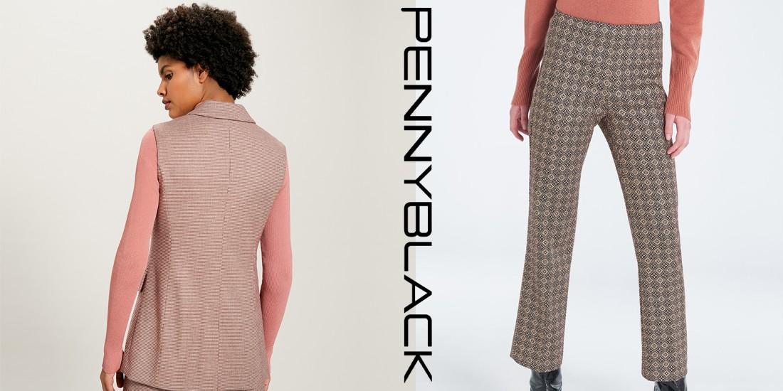 Abbigliamento donna pantalone e giacca penny balck
