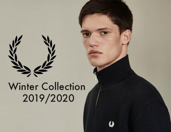 collezione autunno inverno 2019 Fred Perry uomo